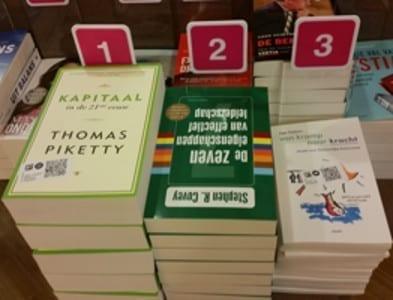 Mijn boek 'van kramp naar kracht' komt binnen in de top 10