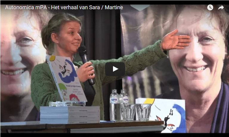 Sara/Martine: dapper, opstandig, doorzetter en eerlijk.